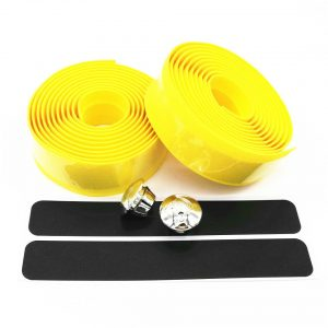 bar tape neon bicycle yellow
