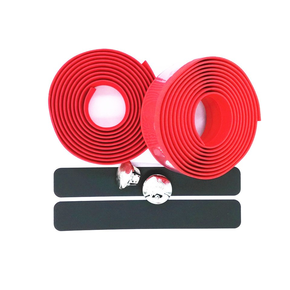 bar tape neon bicycle red