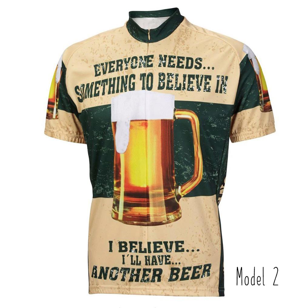 "bad113379 BEER DRINKER"" BEER CYCLING JERSEY – Vintage of Bikes world shop"