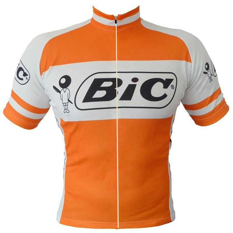 vintage retro cycling jersey bic