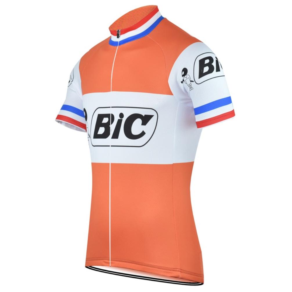 "BIC X FRANCE"" RETRO JERSEY – Vintage of Bikes world shop 09860ebd1"