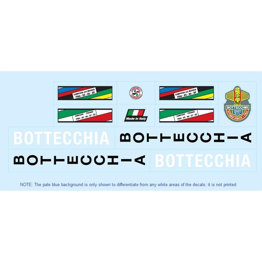 bottecchia restoration bicycle decals vintage stickers retro