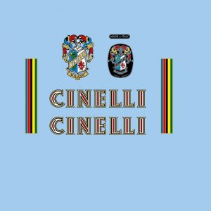 cinelli restoration bicycle decals vintage stickers retro