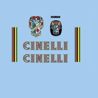cinelli restoration bicycle decals vintage stickers retro