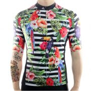 jungle flowers exotic original cycling jersey