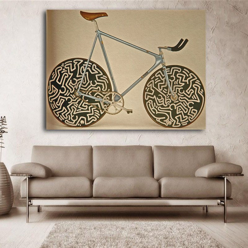 cinelli laser canvas poster decoration
