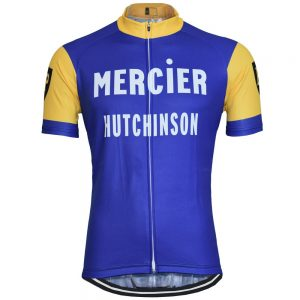 vintage retro cycling jersey mercier