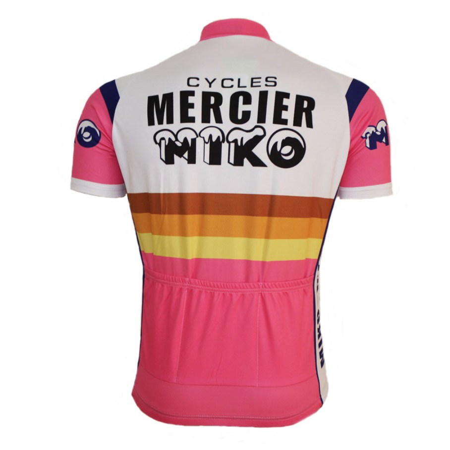 vintage retro cycling jersey mercier