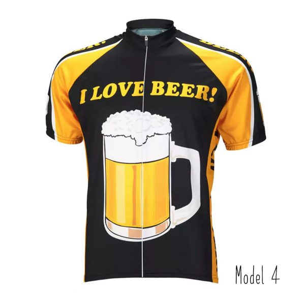 jersey original cycling beer lover bike tshirt