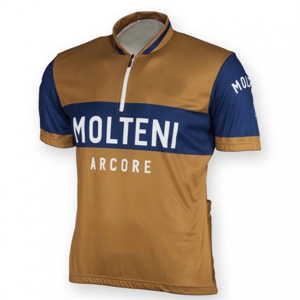 vintage retro cycling jersey molteni eddy merckx