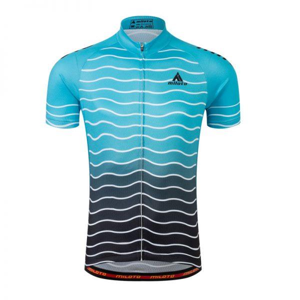 ocean blue original cycling jersey