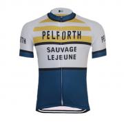 vintage retro cycling jersey PELFORTH lejeune