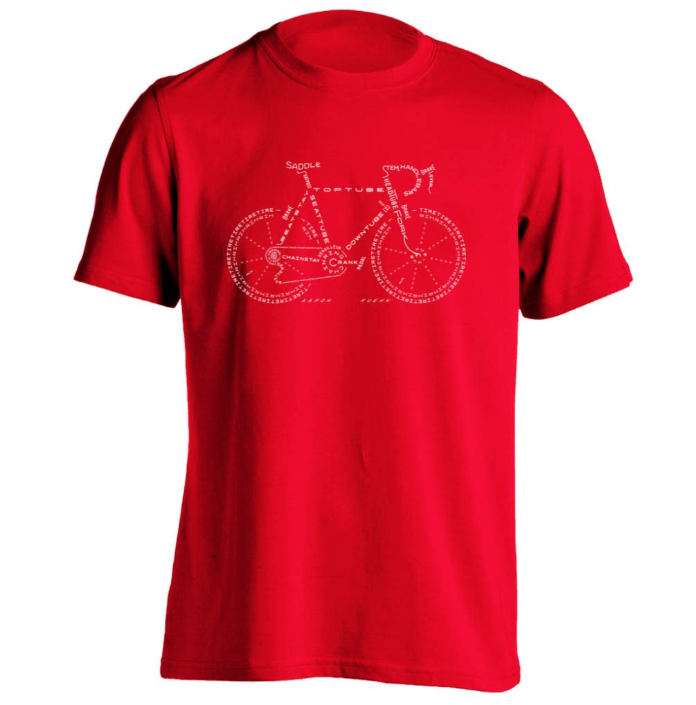 tshirt bike lover cycling vintage