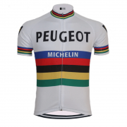 vintage retro cycling jersey peugeot michelin