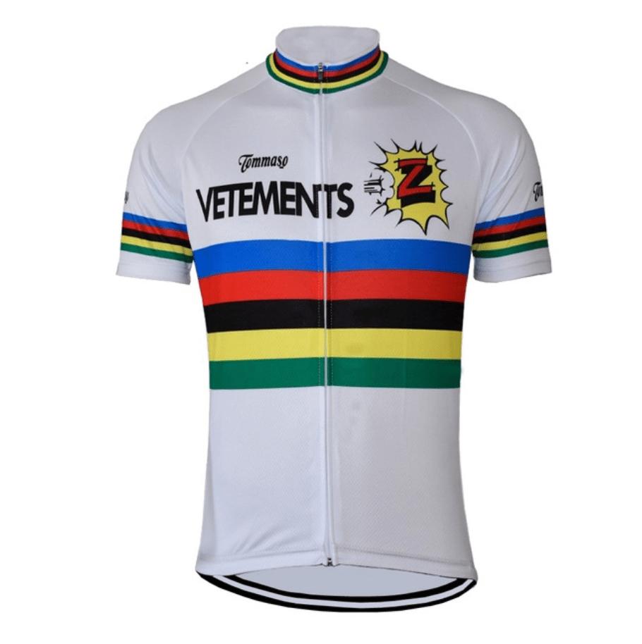 vintage retro cycling jersey z team