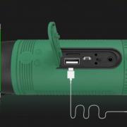 speaker bike waterproof light multi function