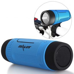 speaker bike waterproof light multi function