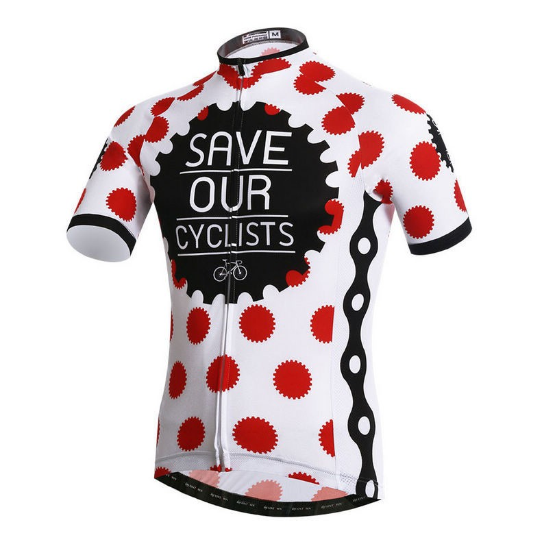 save our cyclists jersey fun cycling original
